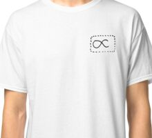 Dashed Proportions Small Logo Classic T-Shirt
