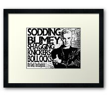 Spike Buffy the Vampire Slayer  Framed Print