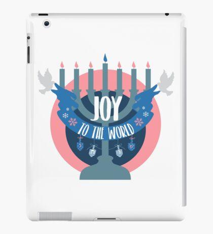 Joy to the World (Hanukkah Version) iPad Case/Skin