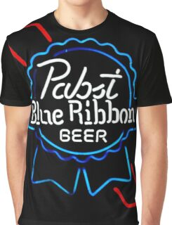 Pabst Blue Ribbon - Beer Graphic T-Shirt