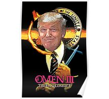 Trump The Omen Parody Poster