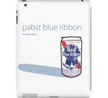 PABST - BLUE RIBBON iPad Case/Skin