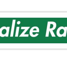 Legalize Ranch - Green Sticker