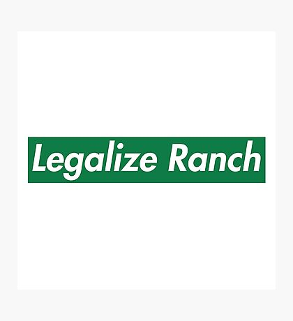 Legalize Ranch - Green Photographic Print