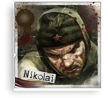 Nikolai Zombies Canvas Print