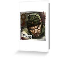Nikolai Zombies Greeting Card