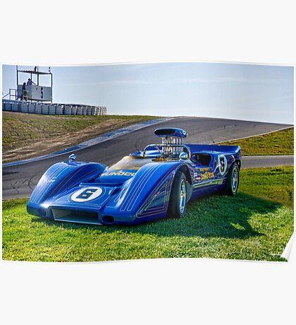 1967 McLaren M6A Can Am Race Car Poster