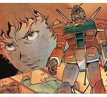 Mobile Suit Gundam Photographic Print