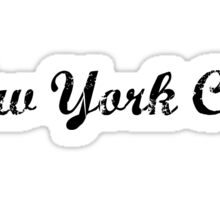 New York City Sticker