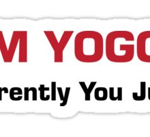 Team Yoggings Sticker