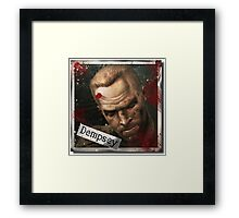 Tank Dempsey Zombies Framed Print