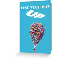 Disney UP Motivational Greeting Card