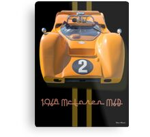 1968 McLaren M6B Can Am Race Car Metal Print