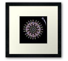 Planetary Flowers Framed Print