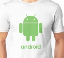 Android Robot Logo Unisex T-Shirt