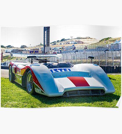 1970 McLaren M8C Can Am Race Car Poster