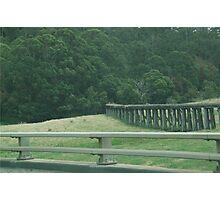 Different Rails Photographic Print