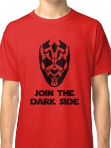 Darth Maul - with text Classic T-Shirt
