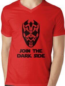 Darth Maul - with text Mens V-Neck T-Shirt