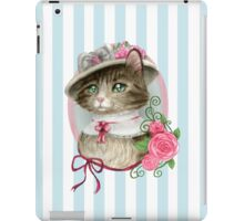 Fancy Cat iPad Case/Skin