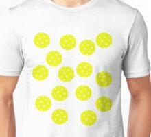 Yellow Pickleballs Everywhere Shirt Unisex T-Shirt
