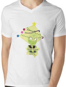 Space Gem Holiday Mens V-Neck T-Shirt