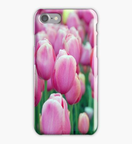 Pretty Pink Tulips iPhone Case/Skin