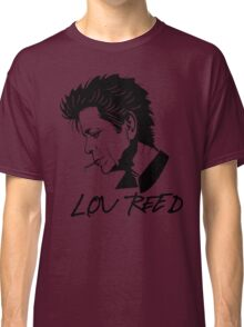Lou Reed (Black) Classic T-Shirt