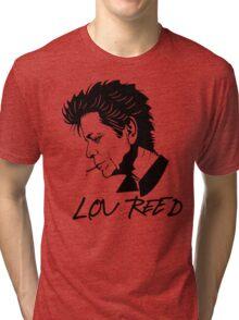 Lou Reed (Black) Tri-blend T-Shirt