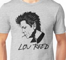 Lou Reed (Black) Unisex T-Shirt