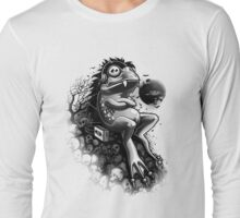 Frog Ghost Long Sleeve T-Shirt