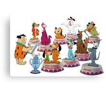 Hanna-Barbera Dog Training Canvas Print