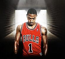 Derrick Rose by ruckusii