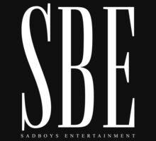 SBE - Sadboys Entertainment White T-Shirt