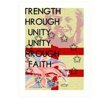 FREEDOM! FOREVER! Art Print