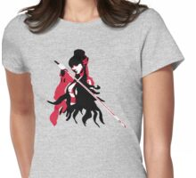 Kung Fu Girl Womens Fitted T-Shirt