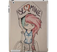 Be mine for valentines day iPad Case/Skin