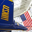 Blue Angel & Old Glory by Chet  King