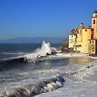 Basilica Santa Maria Assunta   Camogli Liguria Italia by Alessandra Antonini