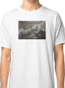 Signing the Declaration of Independence Classic T-Shirt