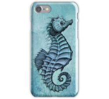 Seahorse II ~ Ink and Watercolor iPhone Case/Skin