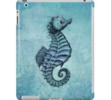 Seahorse II ~ Ink and Watercolor iPad Case/Skin