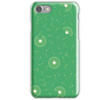 Dandelions Gold on Green iPhone Case/Skin