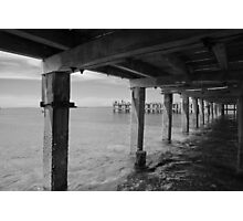 Ryll Pier, Westernport bay Photographic Print