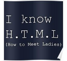 I Know HTML Poster