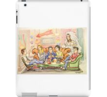 The One Where They're Cartoons iPad Case/Skin