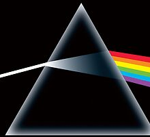 Pink Floyd. Rainbow refraction. by TotalPotencia