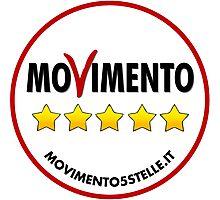 Five Star Movement (M5S) Logo Photographic Print