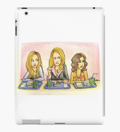 You Can't Sit With Us iPad Case/Skin