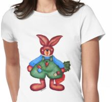 B is 4Bunny Womens Fitted T-Shirt